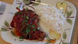 Spicy Saucy Pork Chops
