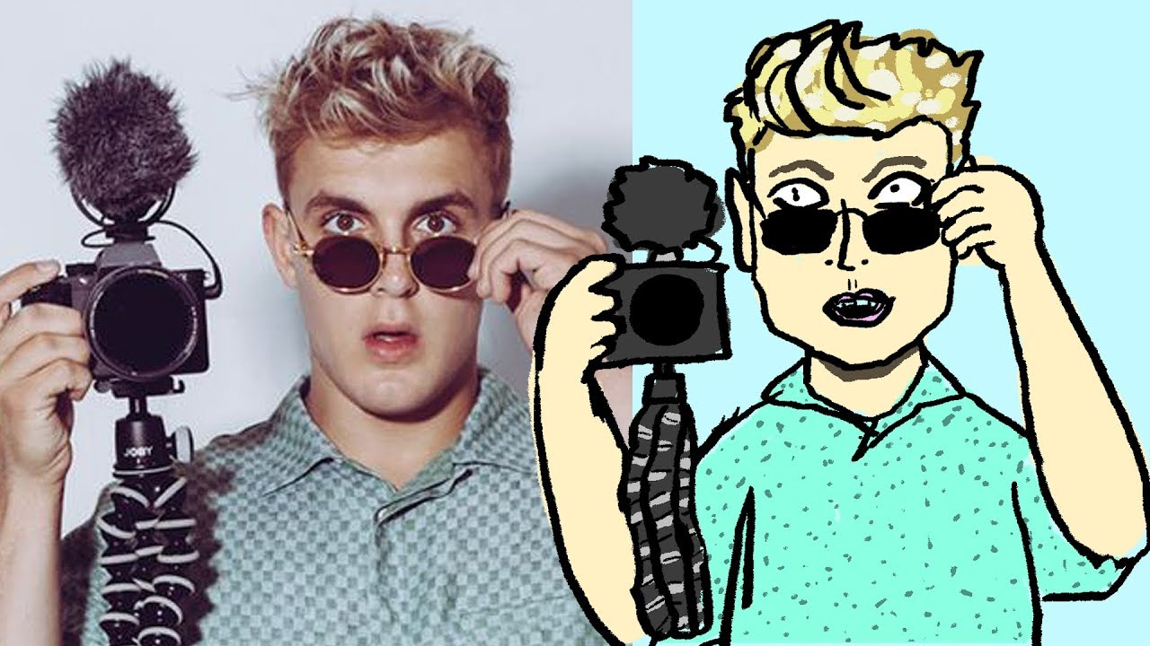 How to draw jake paul from team 10 magic doodle art