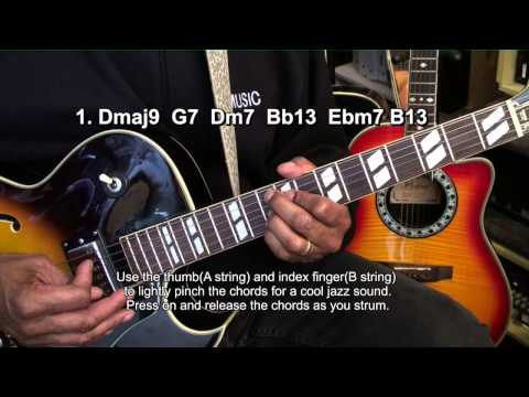 How To Play THE GIRL FROM IPANEMAJobim/Gilberto On Guitar Finger Style Chords