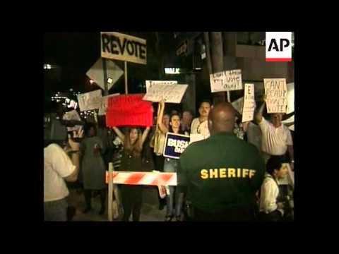 USA: FLORIDA / PALM BEACH: RECOUNT UPDATE