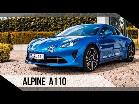 Alpine A110   2019   Test   Review   Fahrbericht   MotorWoche   MoWo