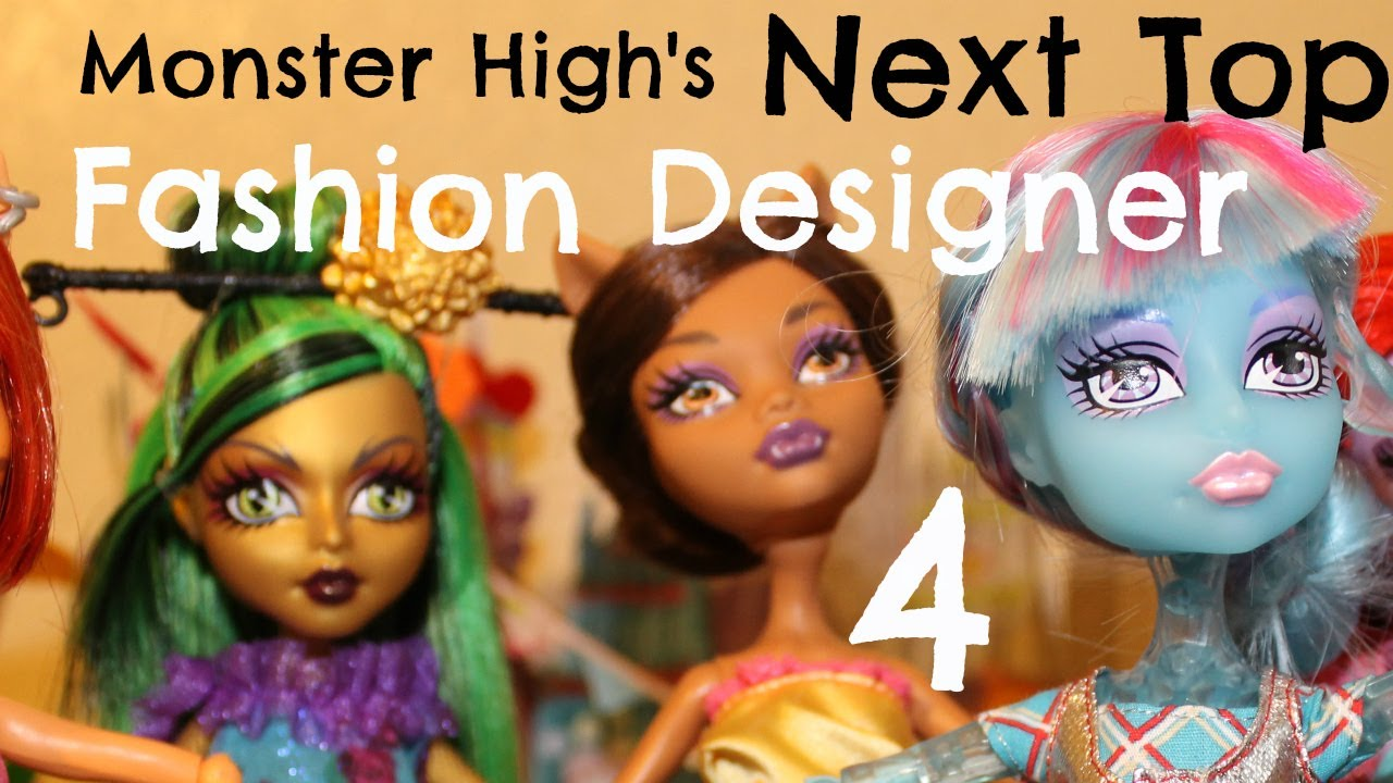 Monster High Next Top Fashion Designer Episode 4 Youtube