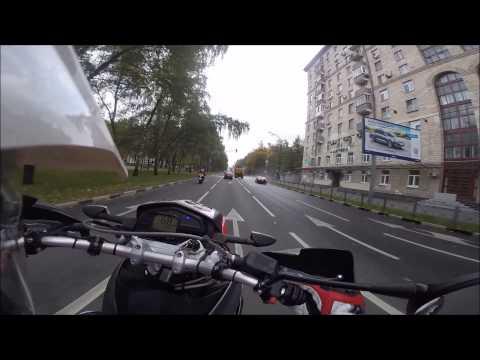 Wheelie on BMW G 650 XMOTO