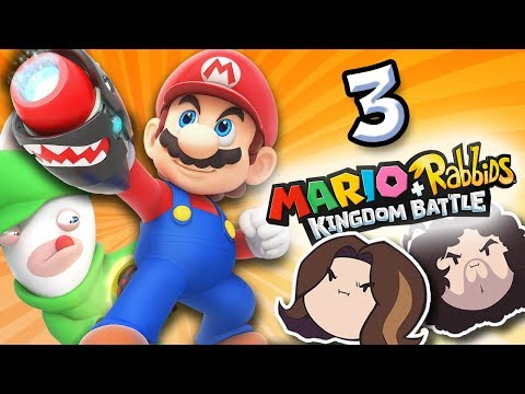 Mario + Rabbids Kingdom Battle: Rabbids Rule - PART 3 - Game Grumps