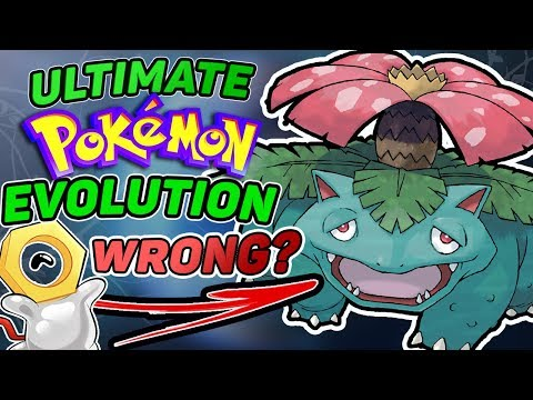 Ultimate Pokemon Evolution Tree: How EVERY Pokemon Evolves Is WRONG? Bonus #1