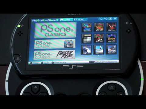 PlayStation Store for the PSP Go (Wireless Downloads)