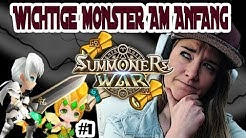 WICHTIGSTEN Monster die man am Anfang braucht!! EARLY GAME GUIDE|| Summoners War [Deutsch/German]