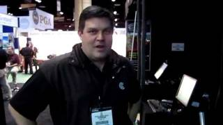 PT2 - P3ProSwing Online/Network Play Demo at the PGA Merchandise Show 2012 by Par2Pro