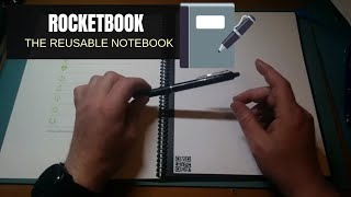 Everlast Rocketbook - the reusable notebook for frixion pens
