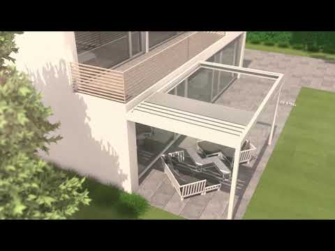 B600 outdoor living pergola | Brustor product video