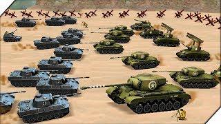 НОВЫЕ СРАЖЕНИЯ - СИМУЛЯТОР Второй Мировой Войны WW2 Battle Simulator #12 Стратегии 2018