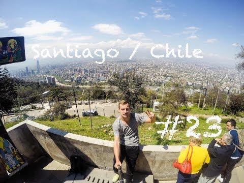 In einer europäischen Stadt / Santiago de Chile / Chile #23