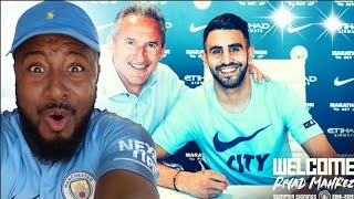 Riyad Mahrez Signs To Manchester City Reaction!! | Welcome To Man City