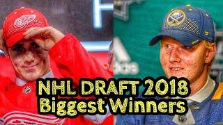 NHL Draft 2018 Biggest Winners