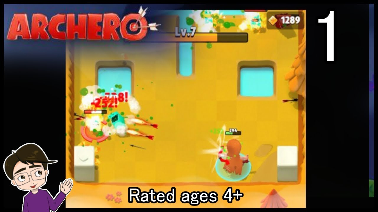🥇 Let's Play Archero on iOS #1 A Free-To-Play Action RPG
