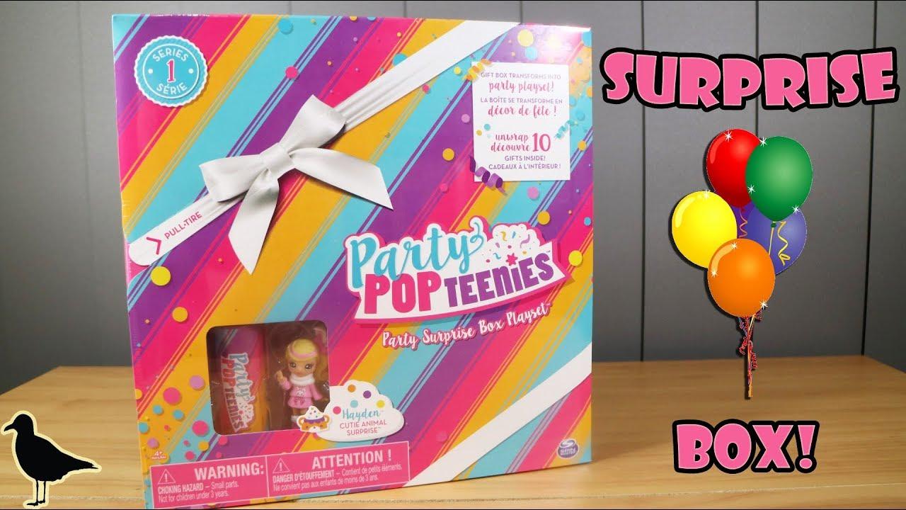 PopTeenies Party Surprise Box Animal Hayden
