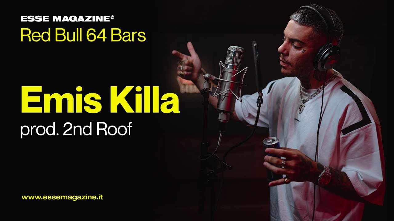 Red Bull 64 Bars: Emis Killa prod. 2nd Roof | ESSE MAGAZINE