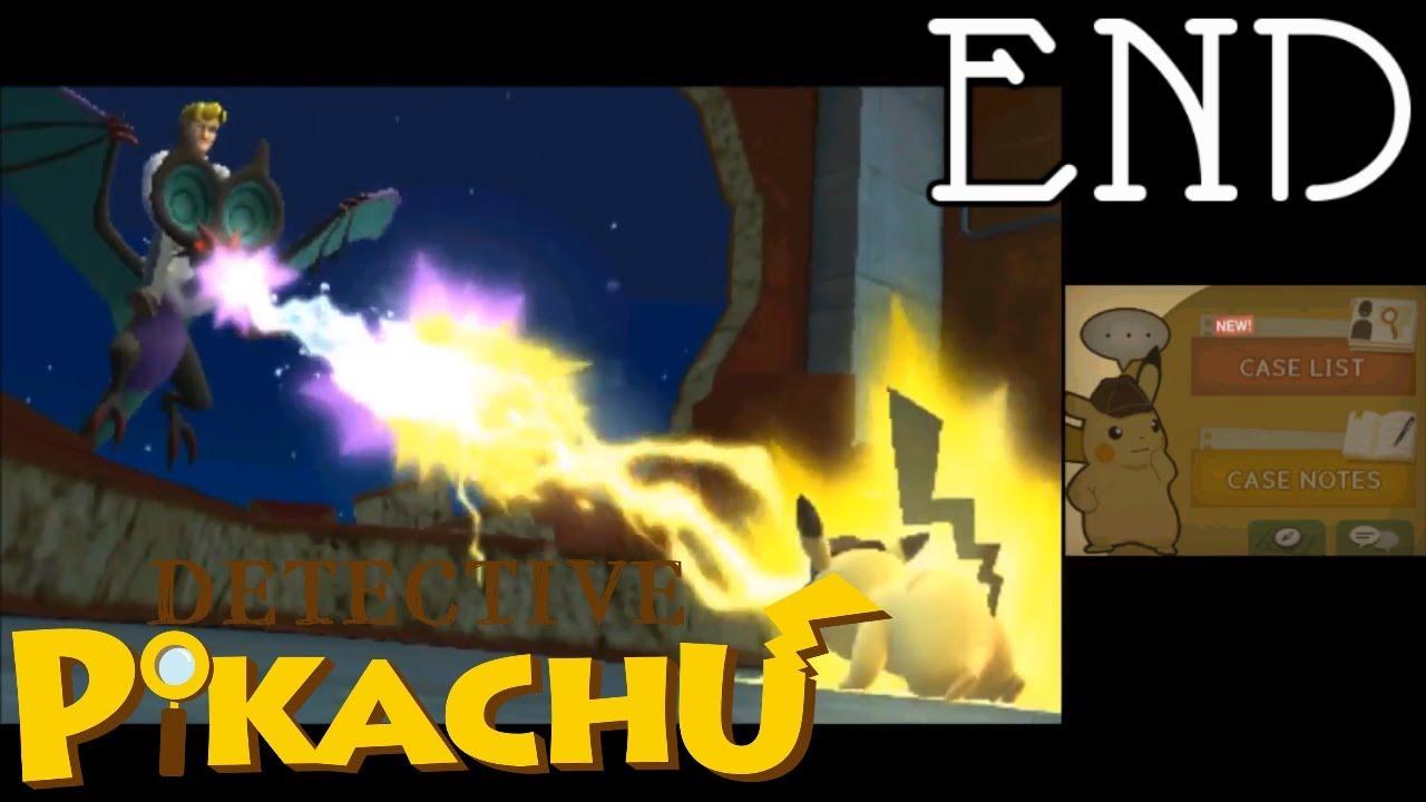 Detective Pikachu Gameplay Walkthrough Part 13 Ending Youtube