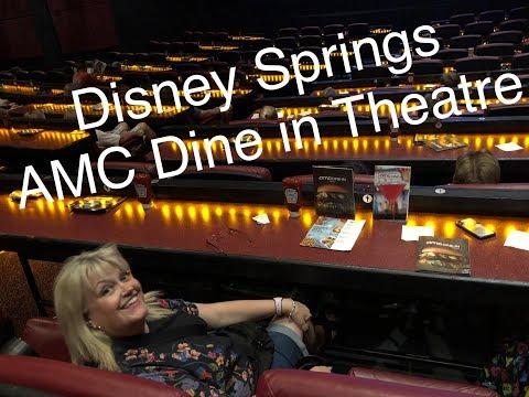 Disney Springs, AMC Dine In Theatre, Day 4 June 2018