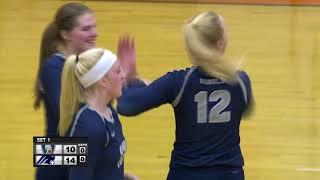 Champlin Park vs. St Michael-Albertville Section Girls High School Volleyball