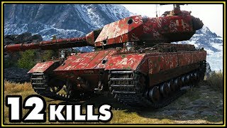 Super Conqueror - 12 Kills - World of Tanks Gameplay