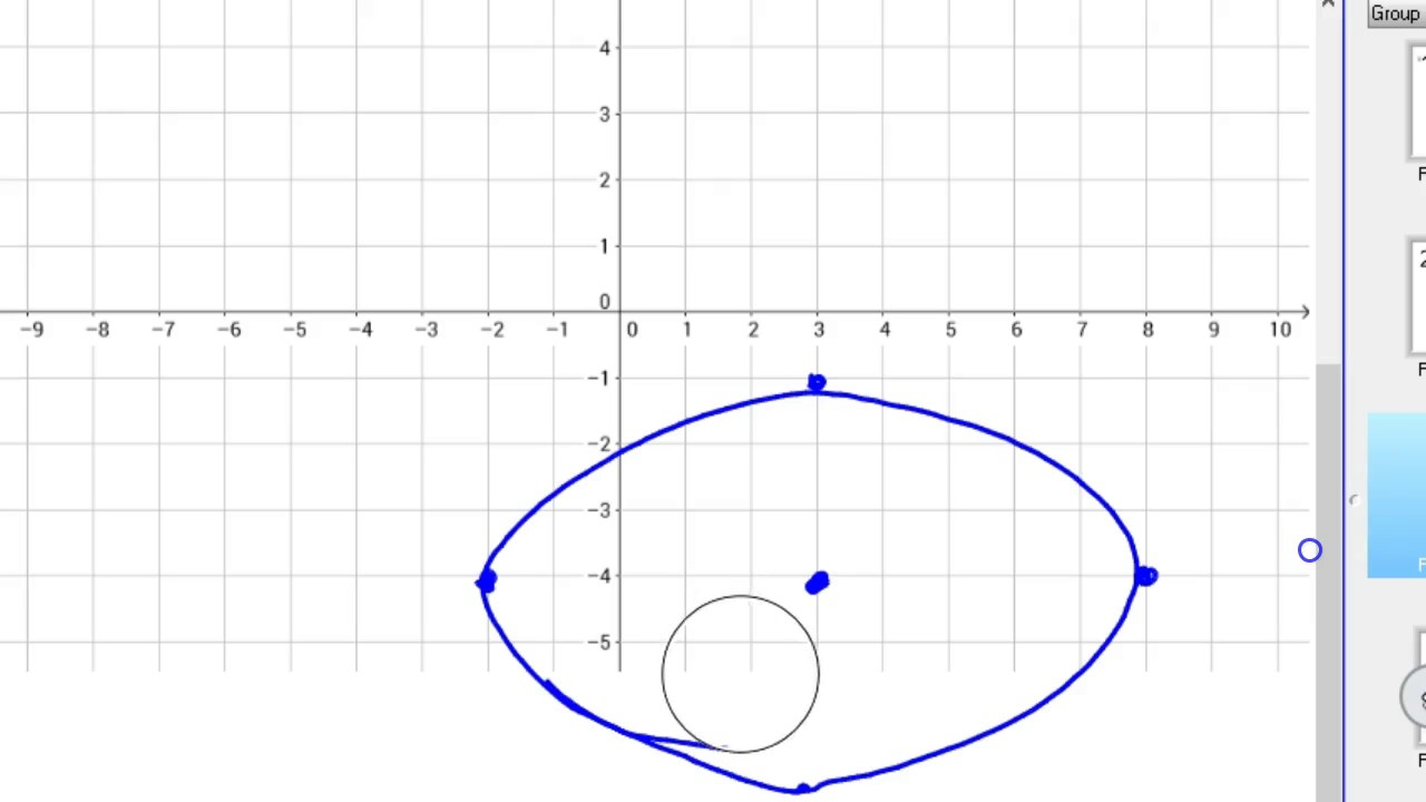 How to graph an ellipse in standard form youtube how to graph an ellipse in standard form falaconquin