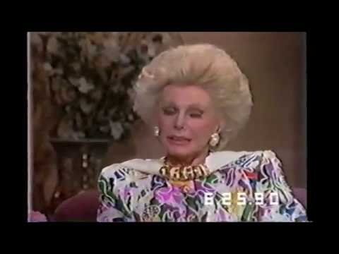 Eva Gabor Talks About Zsa Zsa Gabor
