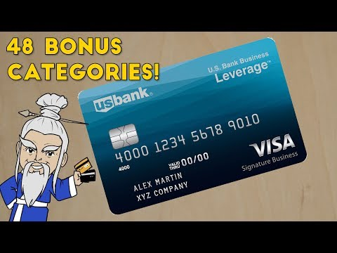 NEW US Bank Business Leverage Card with 48 BONUS Categories!!