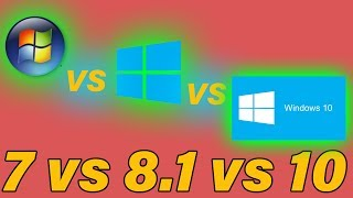 Windows 7 VS 8.1 VS 10 For Gaming [2017]