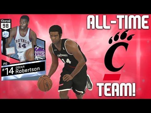 Game Breakers Diamond Oscar Robertson - All-Time Cincinnati Team - NBA 2K17 MyTeam Gameplay - FGF