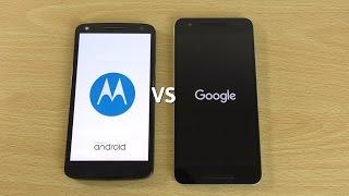 Moto X Force (Droid Turbo 2) Marshmallow VS Nexus 6P - Speed Comparison!