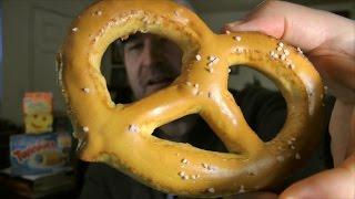 Baker's Best Baked Soft Pretzels Review (eating The Dollar Stores, Ep #10)