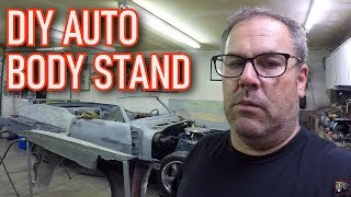 Auto Body Repair @ RFG - Building a Fender Stand | 1971 Pontiac GTO Project