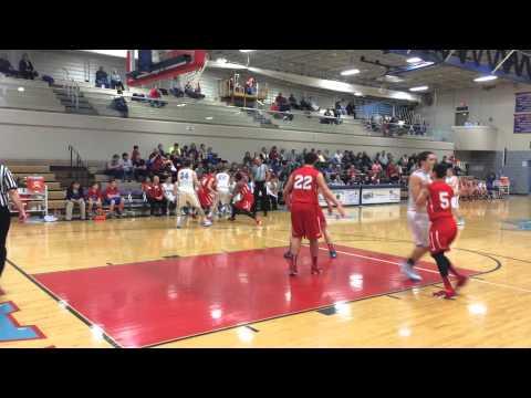 Sam Gebhardt's School Record 3-pointer for Garaway High School