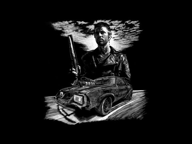 T Shirt Designs # 4 Mad Max 2 The road warrior