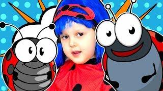 ЛЕДИ БАГ Соревнования Божьих Коровок Новые питомцы Ladybugs Berry Bug Видео для детей