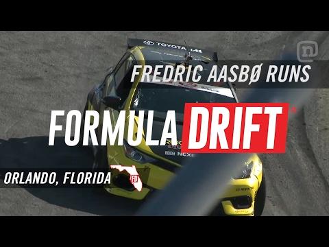 Formula Drift Orlando 2017: Fredric Aasbo's Winning Runs
