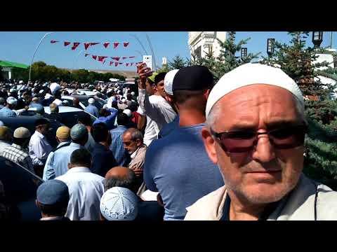 BUHARA CAMİİ AÇILIŞ ÖĞLE EZANI