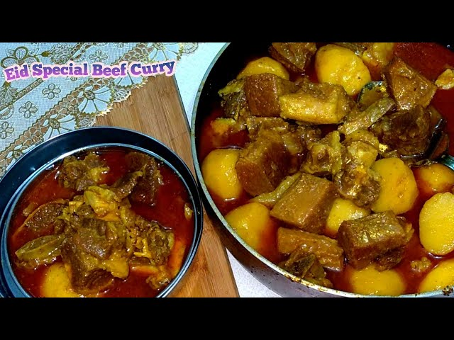 ??? ??????? ???? ???? ?????? ?????? || Best Beef Curry Eid Special Recipe || beef curry in Bangla