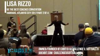 PART 2/4-Coach Lisa Rizzo: CUDIT® Concentric Licensed Coaches Softball Tips and Drills