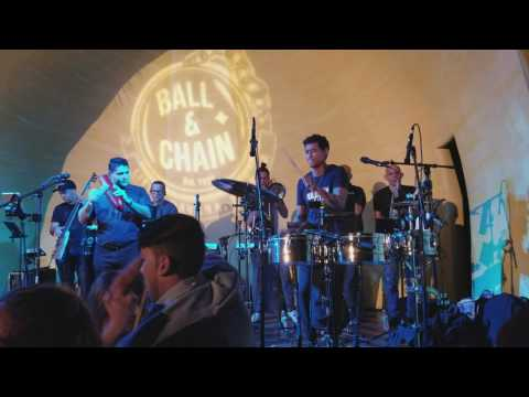 Tony Succar & Mixtura Band live @  Ball & Chain, 07.22.17