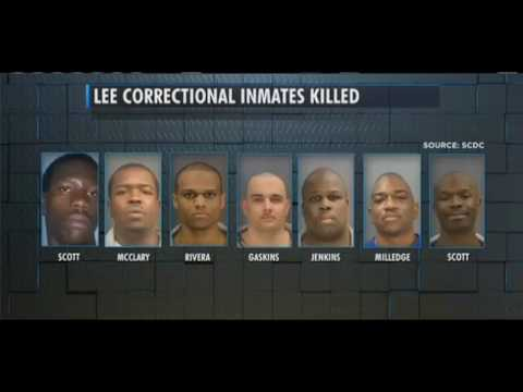 Prison Riot: Lee County SC 7 dead