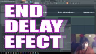 How To Do End Delay Effects On Your Vocals