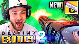 THIS *EXOTIC* GUN IS AMAZING - (Destiny 2 MULTIPLAYER Gameplay LIVE w/ Ali-A)