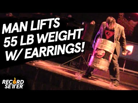 Heaviest Weight Lifted With Earrings!
