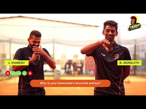 Off the Field with Ruby Trichy Warriors: Baba Indrajith and L Vignesh