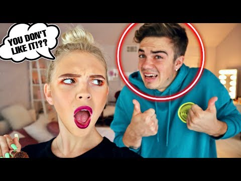 Doing My Makeup BAD To See If My Boyfriend Notices... thumbnail