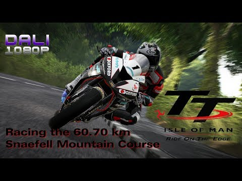 TT Isle of Man: Ride on the Edge | Racing the 60.70 km Snaefell Mountain Course