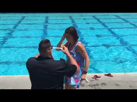 2018 Special Olympics Northern California Summer Games swimming and activities Day 1