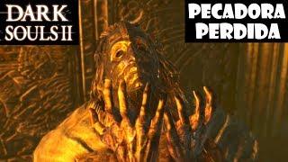 Dark Souls 2 guia: LA PECADORA PERDIDA || Trucos para matar a este boss | Cómo despetrificar || Ep23